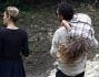 Claudio Santamaria all'appuntamento con la compagna anche la figlia Emma, avuta dalla precedente relazione