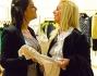 Sara Tommasi e Giovanna Rigato fanno shopping a La Rinascente