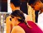Melissa Satta e Kevin Prince Boateng intenti nello scegliere con attenzione cosa comprare