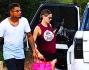 Tornano a casa dopo il 'dolce' shopping: Melissa Satta e Kevin Prince Boateng