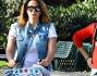 Melissa Satta e Simona Salvemini al parco con Maddox