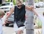 Sharon Stone la diva di Hollywood sembra divertirsi molto con i figli