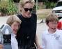 Sharon Stone a Los Angeles con i figli Quinn e Laird: le foto