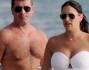 Lauren Silverman e Simon Cowell a largo di St.Barth in yacht