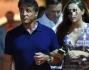 Sylvester Stallone con la figlia Scarlet a Portofino