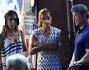 Sylvester Stallone con le figlie Scarlet, Sistine-Rose, Sophi