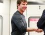 Tom Cruise stato 'pizzicato' sul set di Mission Impossible 5