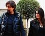 Pizzicato per Milano l\'inviato di Striscia Valerio Staffelli con la moglie Matilde