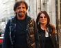 Valerio Staffelli e Matilde Zarcone paparazzati per le vie di Milano