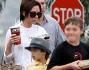 victoria beckham ha portato i figli romeo beckham, brooklyn beckham e cruz beckham al cinema