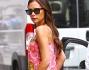 Victoria di certo non passa inosservata durante la Mercedes-benz Fashion week