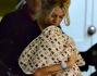 Wanda Nara fa ritorno a casa con la piccola Isabella