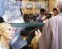 Cate Blanchett sul set con Woody Allen