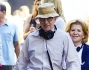 Woody Allen sul set a NY