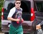 Zac Efron avvistato a Porto Cervo insieme all'imprenditore Gianluca Vacchi