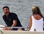 Javier Zanetti in barca a Portofino con la moglie Paula: le foto