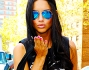Adriana Lima in occasione della Mercedes-Benz Fashion Week