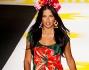 La bella modella brasiliana Adriana Lima per la sfilata Desigual