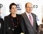 Il principe Alberto e la sorella, la principessa Carolina di Monaco hanno assistito alla proiezione monegasca del film La Baie Des Anges
