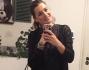 Alena Seredova sportiva per una domenica in famiglia