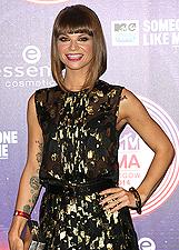 Alessandra Amoroso agli Mtv Awards 2014 a Glasgow: foto