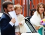 Alessandro Cattelan e Ludovica Sauer arrivano insieme alla Cerimonia con la figlia Nina