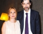Alessandro Gassman e Sabrina Knaflitz presso l'Ambasciata di Francia per la serata di premiazione