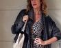 Alessia Marcuzzi immersa ormai a 360 gradi nel mendo della moda, dal programma tv al suo fashion blog
