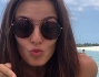 Alessia Reato con una bellissima stella marina in mano