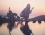 Il tramonto da Mykonos per Alessia Tedeschi