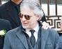 Andrea Bocelli scortato fino al santuario di Montenero, sulle colline di Livorno