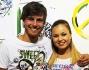 Andres Gil ed Anastasia Kuzmina sono inseparabili: eccoli a Pitti 2013