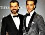 Luca Argentero in abito Gucci: eccolo insieme a Jon Kortajarena