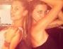 Asia Nuccetelli pronta per il party insieme alla sua amica Marzia Lazzarini