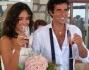 Brindisi agli sposi in compagnia di parenti ed amici cari: Caterina Balivo e Guido Maria Brera