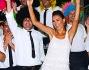 Caterina Balivo e Guido Maria Brera festeggiano insieme agli amici dopo il cambio d'abito