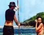 Caterina Balivo e Guido Maria Brera immersi nell'oceano indiano