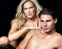 Rafael Nadal con Bar Refaeli per Sports Illustrated