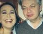 Barbara D'Urso e Daria Bignardi col marito della presentatrice e giornalista Luca Sofri