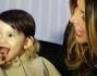 Guendalina Tavassi insieme alla sua bimba super chic
