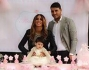 Tutto rosa ed esagerato per il battesimo di Chloe figlia di Guendalina Tavassi e Umberto D'Aponte