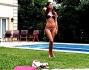 Sole e piscina per Cecilia Rodriguez che passa il suo Natale in Argentina