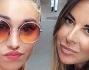 Un bacio a tutti i fan da Belen Rodriguez e Simona Miele dalla bella New York