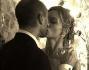 Primo bacio da marito e moglie per Andrea Rizzoli e Alice Bellagamba