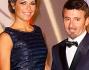 Eleonora Pedron e Max Biaggi alla Salle des Etoilles dello Sporting del Principato di Monaco