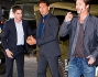 Jon Bernthal, Logan Lerman e Brad Pitt al Museo dei Carri Armati a Bovington