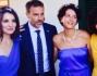 Lo sposo Fausto Brizzi tra le nelle damigelle e le amiche della sposa tra cui Giulia Bevilacqua