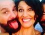 Selfie di gruppo matrimoniale per Giulia Bevilacqua
