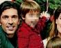 Alena Seredova e Gigi Buffon con i figli Louis Thomas e David Lee