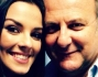 Alessia Reato insieme a Gerry Scotti per una foto ricordo